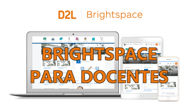 Brightspace para docentes
